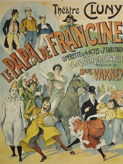 Poster for Pope De Francine--Giclee Print