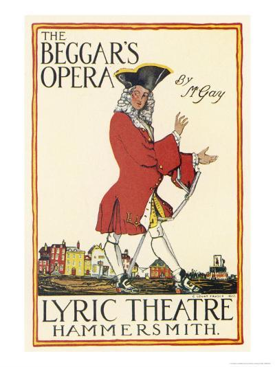 Poster for Production at the Lyric Theatre Hammersmith-Charles Lovat-Giclee Print
