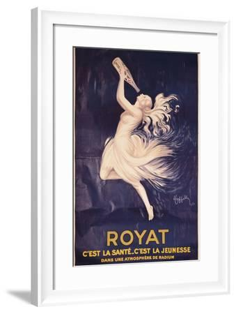 Poster for Royat-Leonetto Cappiello-Framed Art Print