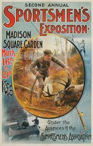 Poster for Sportmen's Exposition, 1896