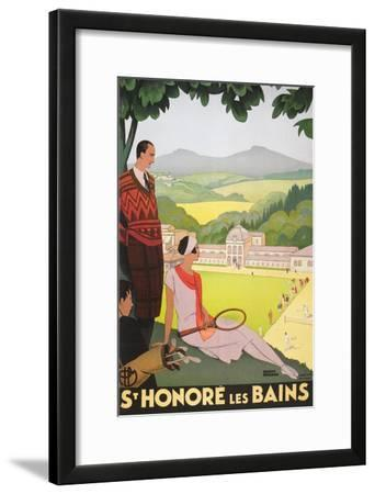 Poster for St. Honore Les Bains