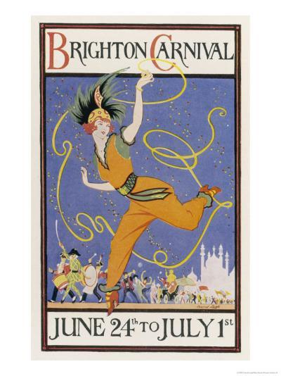 Poster for the Brighton Carnival 24 June to 1 July-Conrad Leigh-Giclee Print