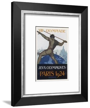 Poster for the Paris Olympiad-Orsi-Framed Premium Giclee Print