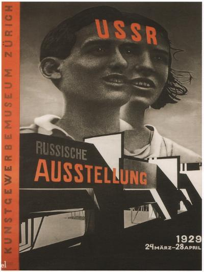 Poster for the Russian Exhibition in Zurich, 1929-El Lissitzky-Giclee Print