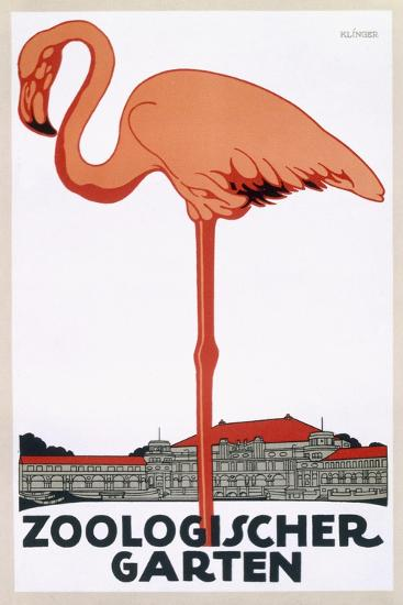 Poster for the Zoological Garden, Berlin, 1927--Giclee Print