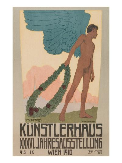 Poster for Vienna Art Exhibition--Art Print