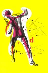 Poster of Arrows Pointing to Muscles