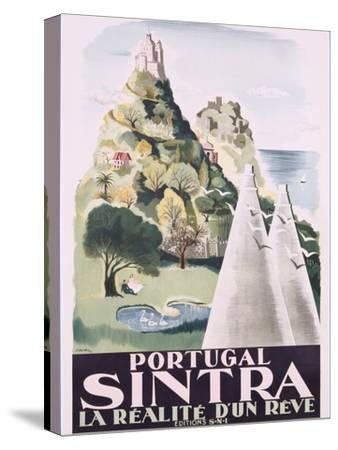 Poster of Sintra, Portugal, 1949