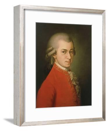 Posthumous Painting of Wolfgang Amadeus Mozart, 1756-1791