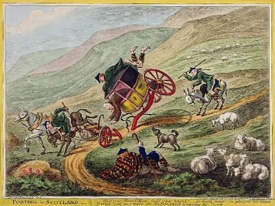 Posting in Scotland, Published by Hannah Humphrey, 1805-Charles Lorraine Smith-Giclee Print