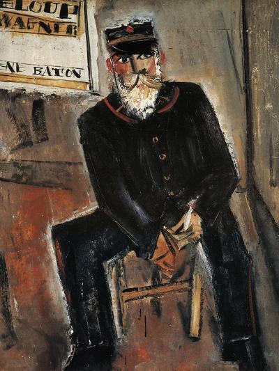 Postman, Paris-Yuzo Saeki-Giclee Print