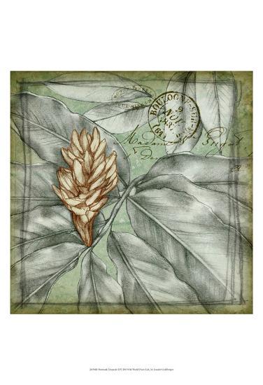 Postmark Tropicals II-Jennifer Goldberger-Art Print