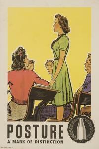 Posture: a Mark of Distinction Poster