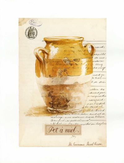 Pot a Miel-Pascal Cessou-Art Print