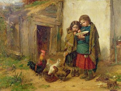 Pot Luck, 1866-Thomas Faed-Giclee Print