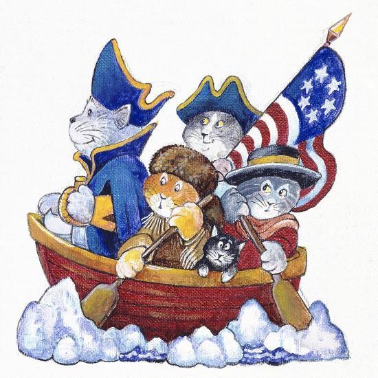 Potomac Cats-Bill Bell-Giclee Print
