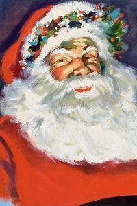 Potrait of Santa Claus