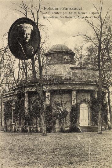 Potsdam, Sanssouci, Mausoleum, Ksrn Auguste Viktoria--Giclee Print