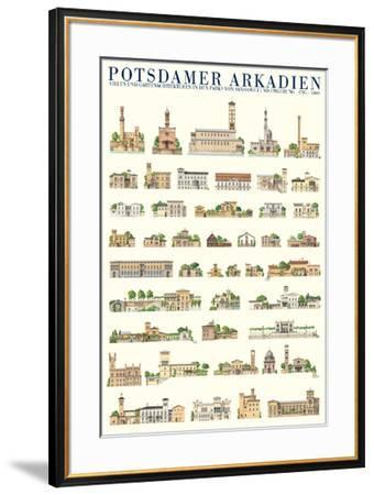 Potsdamer Arkadien, Potsdam--Framed Art Print