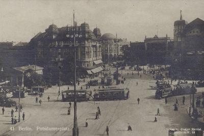 Potsdamer Platz, Berlin--Photographic Print