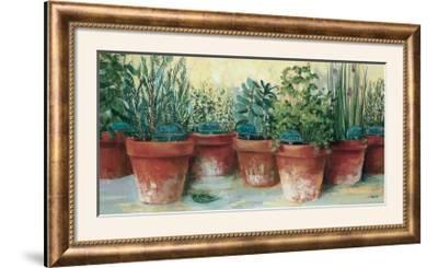 Potted Herbs II-Carol Rowan-Framed Photographic Print