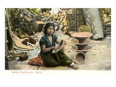 Potter, Mexico--Art Print
