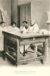 Potters Wheel at Sevres Factory