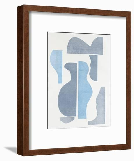 Pottery Forms III-Rob Delamater-Framed Art Print