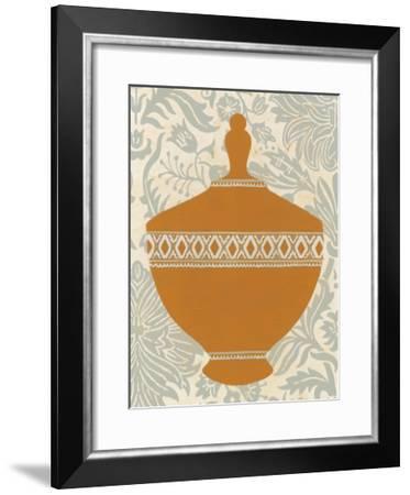 Pottery Patterns I-June Erica Vess-Framed Art Print