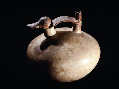 Pottery Vase in the Form of a Duck, Artifact Originating from Paracas--Giclee Print