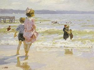 At the Seashore by Potthast