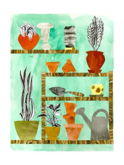 Potting Shed 2-Brenna Harvey-Premium Giclee Print