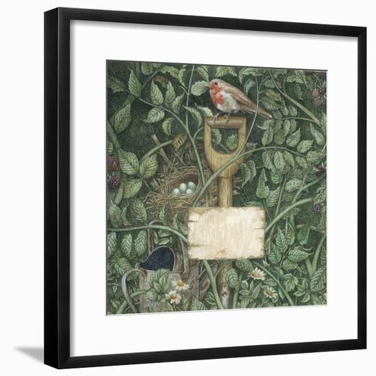 Potting Shed-Anne Yvonne Gilbert-Framed Giclee Print
