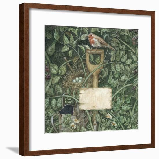 Potting Shed-Anne Yvonne Gilbert-Framed Giclee Print