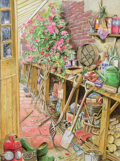 Potting Up, 1997-Tony Todd-Giclee Print