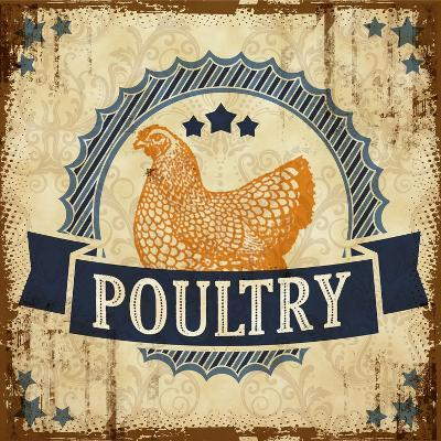 Poultry 1--Giclee Print