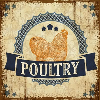 Poultry 2--Giclee Print