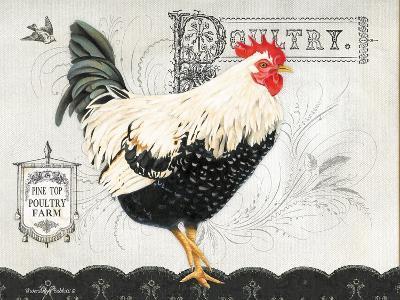 Poultry Farm II-Gwendolyn Babbitt-Art Print