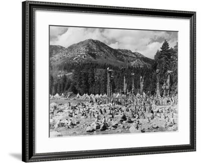 Pow Wow--Framed Photo
