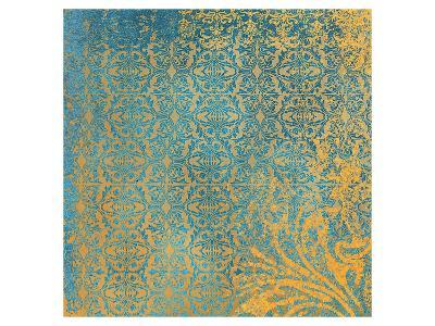 Powder Blue Lace III-Rachel Travis-Art Print