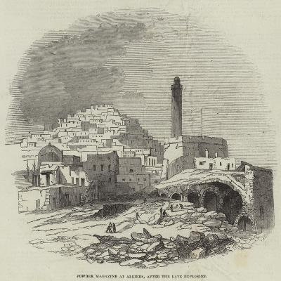 Powder Magazine at Algiers, after the Late Explosion--Giclee Print