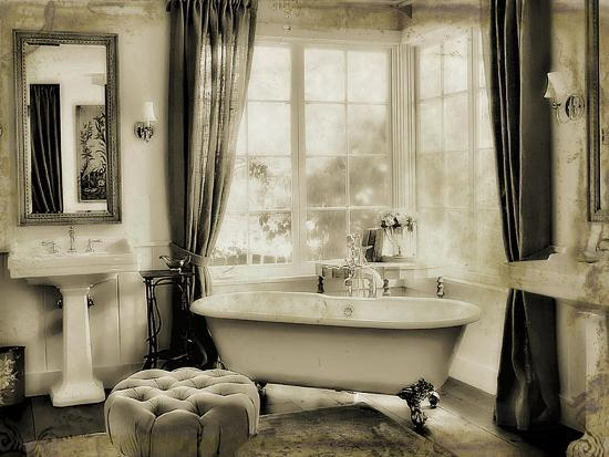Powder Room-Mindy Sommers-Giclee Print