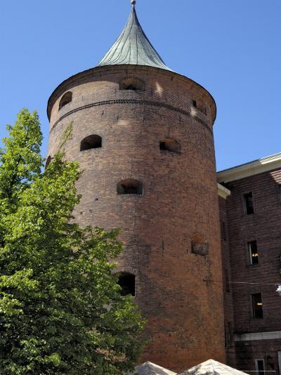 Powder Tower, Riga, Latvia, Baltic States-Gary Cook-Photographic Print