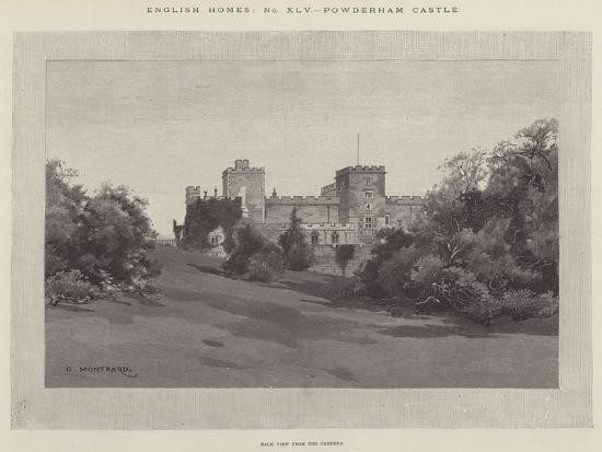 Powderham Castle-Charles Auguste Loye-Giclee Print