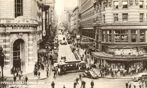 Powell Street, Cable Car, San Francisco, California, Photo