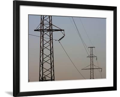 Power Lines--Framed Photographic Print