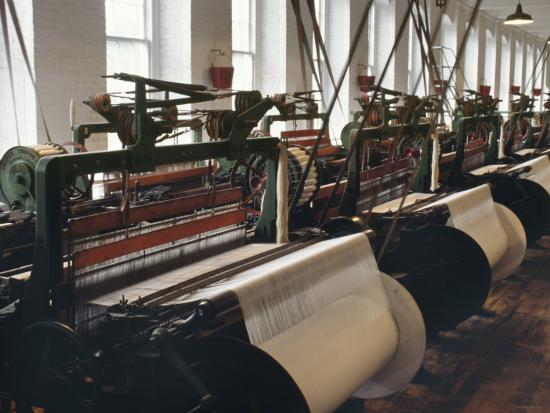 at the lowell textile mills