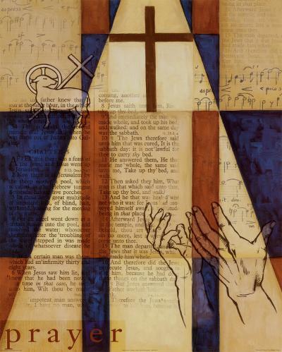 Power of Prayer I-William Verner-Art Print
