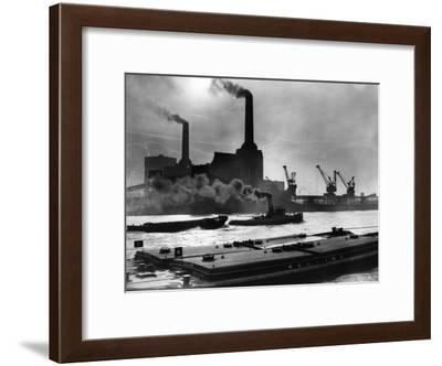 Power Station--Framed Photographic Print