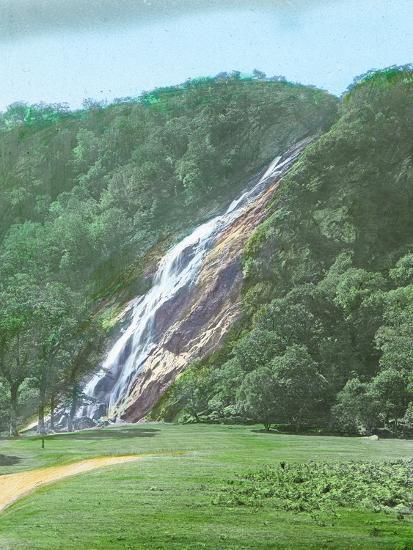 'Powerscourt Waterfall, Co. Wicklow', c1910-Unknown-Photographic Print